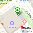 Местоположение компании ТЕХНОГИПС