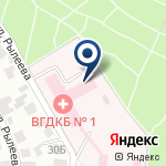 Компания Областная детская клиническая больница №1 на карте