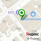 Местоположение компании Магазин цветов на ул. Чапаева (Динская)