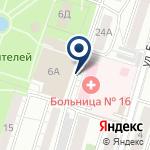 Компания Городская больница №16 на карте