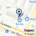 Компания Энкор-Инструмент на Остужева на карте