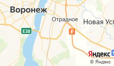Гостиницы города Придача на карте