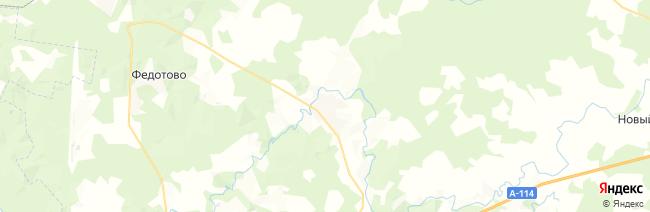 Стризнево на карте