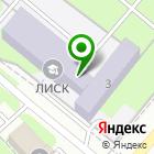 Местоположение компании Липецкий индустриально-строительный колледж