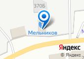 Мельников на карте