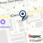 Компания Газпром газораспределение Ростов-на-Дону на карте