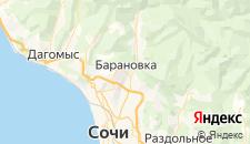Гостиницы города Барановка на карте