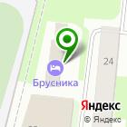 Местоположение компании Брусника