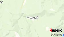 Гостиницы города Мезмай на карте