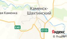Гостиницы города Каменск-Шахтинский на карте
