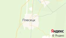 Гостиницы города Плесецк на карте