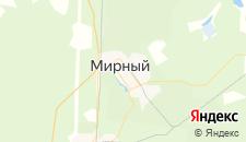 Гостиницы города Мирный на карте