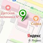 Местоположение компании Городской клинико-диагностический центр детской городской клинической больницы №1