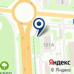 Компания Citroen на карте