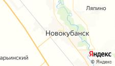 Гостиницы города Новокубанск на карте