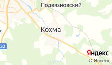Гостиницы города Кохма на карте