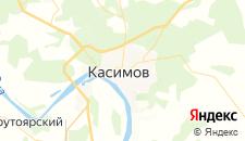 Гостиницы города Касимов на карте