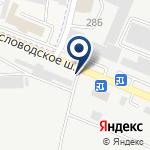 Компания Мастер Кровли Пятигорск на карте