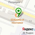 Местоположение компании Продуктовый магазин на Октябрьской