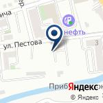 Компания Баку на карте