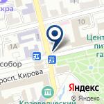 Компания Центральный Банк России, ГУ на карте