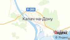 Гостиницы города Калач-на-Дону на карте