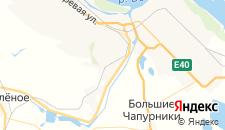 Гостиницы города Кирова на карте
