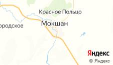 Гостиницы города Мокшан на карте