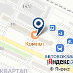 Компания Диалайн на карте