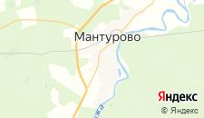 Гостиницы города Мантурово на карте