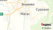Гостиницы города Магас на карте
