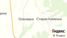 Гостиницы города Оленевка на карте