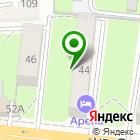 Местоположение компании Салон каминов и декоративных фонтанов на ул. Суворова