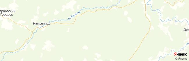 Опоки на карте