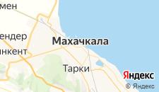 Гостиницы города Махачкала на карте