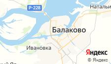Гостиницы города Балаково на карте
