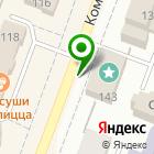 Местоположение компании Студия на Комсомольской