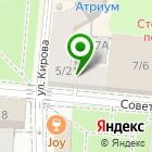 Местоположение компании Волгоградская лаборатория судебных экспертиз Министерства юстиции РФ