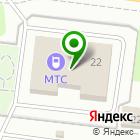 Местоположение компании МТС