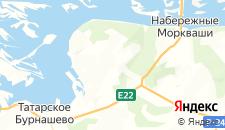 Гостиницы города Иннополис на карте