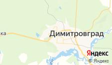 Гостиницы города Димитровград на карте