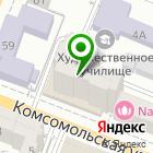 Местоположение компании Аква