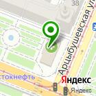 Местоположение компании Садовый центр Веры Глуховой