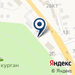 Компания Автомойка на Царев Кургане на карте
