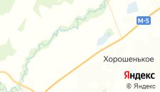 Гостиницы города Кривое озеро на карте