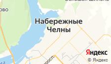 Гостиницы города Набережные Челны на карте