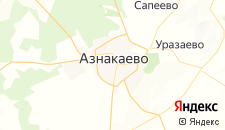 Гостиницы города Азнакаево на карте