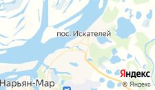 Гостиницы города Нарьян-Мар на карте