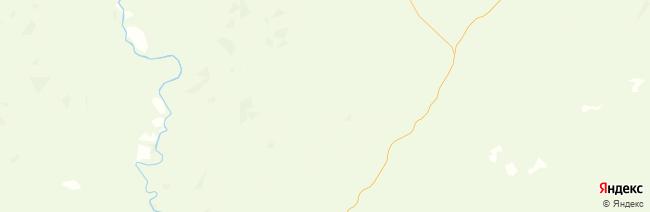 Коми на карте