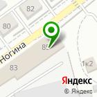 Местоположение компании Авторемонтный центр на ул. Ногина